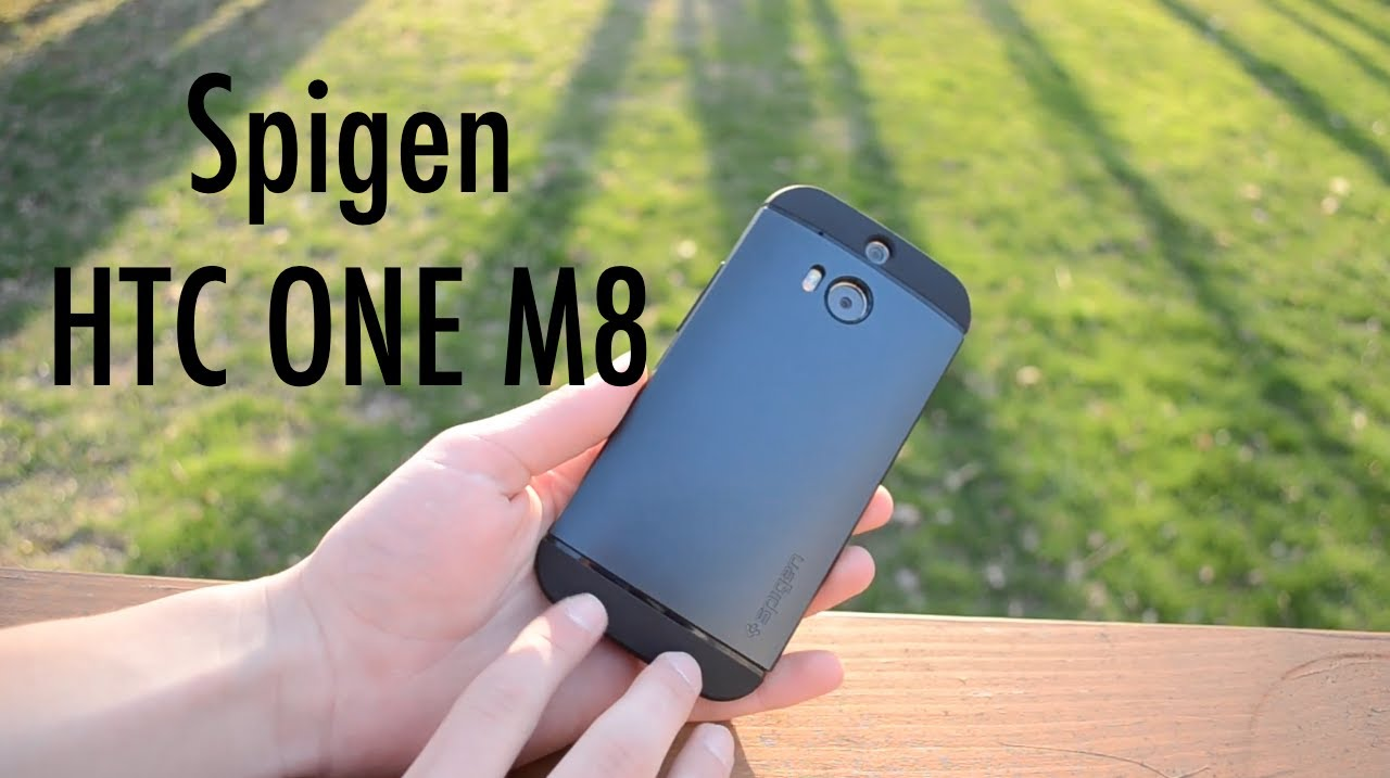 new styles 7e5a0 bf906 Spigen Slim Armor HTC One M8 Case Review!