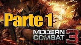 Modern Combat 3 - Parte 1 - Español