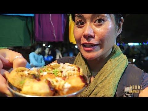 TOP 5 INDIAN STREET FOODS IN VARANASI, INDIA | Indian Chaat & More