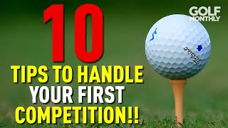 10 TIPS TO HAΝDLE YOUR FIRST COMPETITION!!