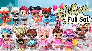 LOL Surprise Blind Bags Glitter Series FULL SET w/ Shimmer and Shine Toys and Dolls - Baby Doll Play