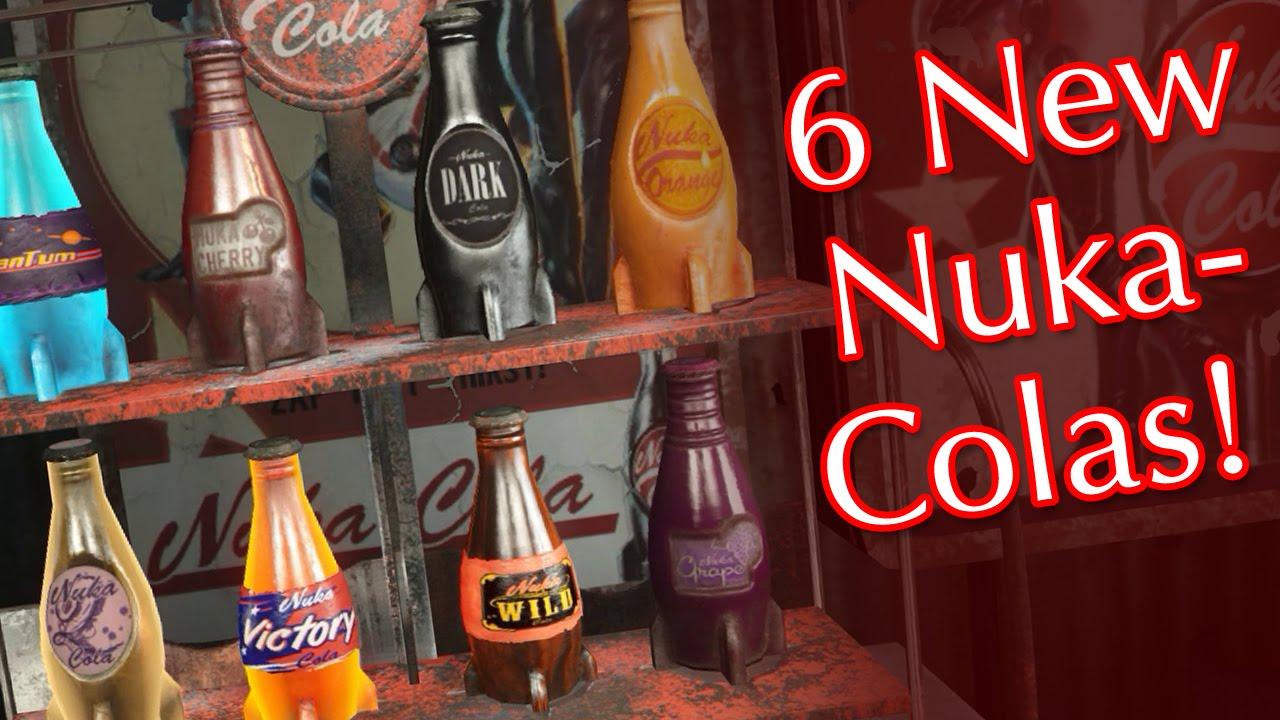 nuka world new nuka cola flavors for fallout 4 quartz victory