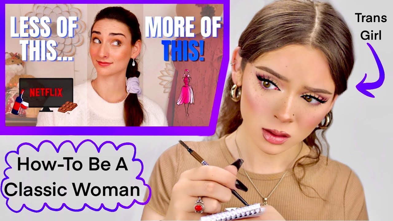Download Trans Girl Learns How To Be A Classic Woman (from Classically Abby)