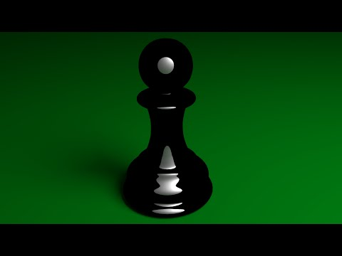 Blender Beginners Tutorial: Create A 3d Pawn Chess Piece Or Cylindrical Object From An Image Using G