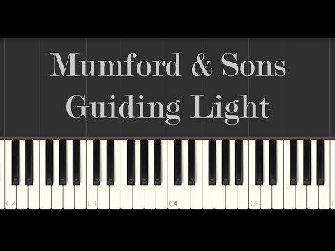 Mumford & Sons - Guiding Light (Piano Tutorial)