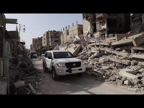 UN: Aid convoy reaches besieged Syrian enclave