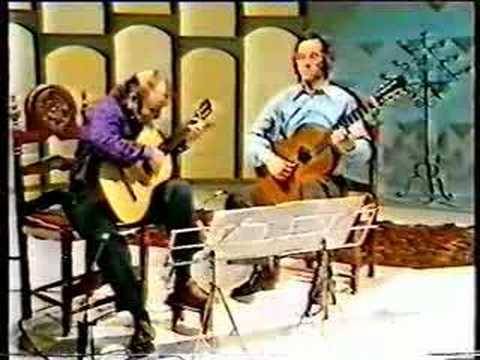John Williams and Julian Bream - Rodrigo - Tonadilla 2 of 3