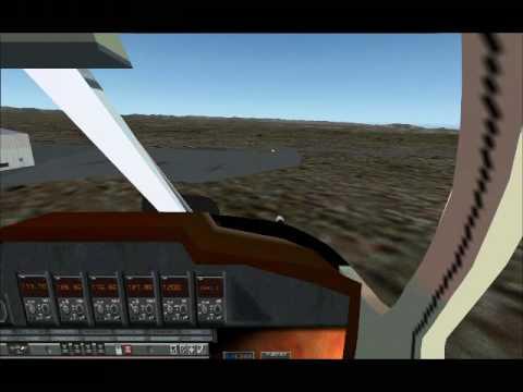 FSX SUPERCOPTER AIRWOLF OVNI - Pilotage et Vidéo de BOUBA-57
