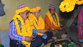 Tihar festival celebration in the village 2020