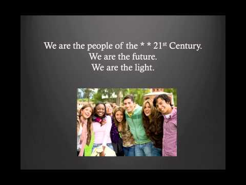 We Are The People Of The 21st Century Lyric Video