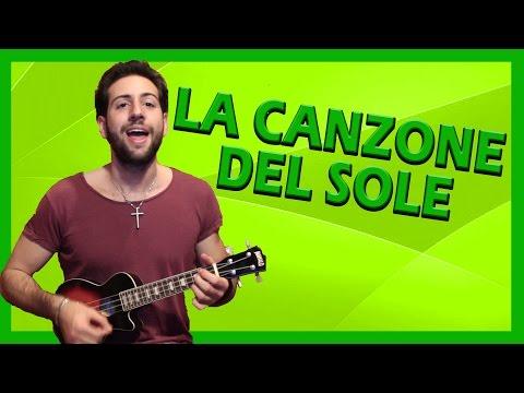 """Tutorial Ukulele ➔ """"La Canzone Del Sole"""" - Lucio Battisti [Accordi Facili ITA]"""