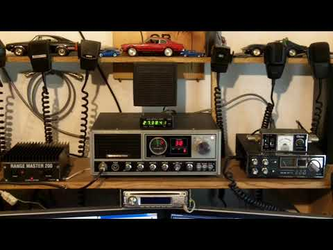 Multiple DX + a little bit of Local, CB Radio Skip Clips