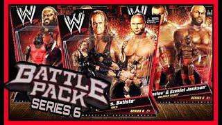 WWE Mattel Battle Pack Wrestling Action Figures Series 6   ft Undertaker, Batista, Mark Henry etc...