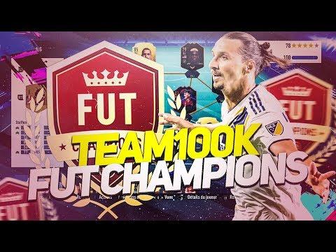 FIFA 19 - OR 1 AVEC UNE TEAM A 70K EN FUT CHAMPION ?