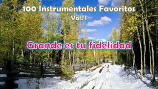 100 Instrumentales Favoritos vol. 1 - 039 Grande es tu fidelidad