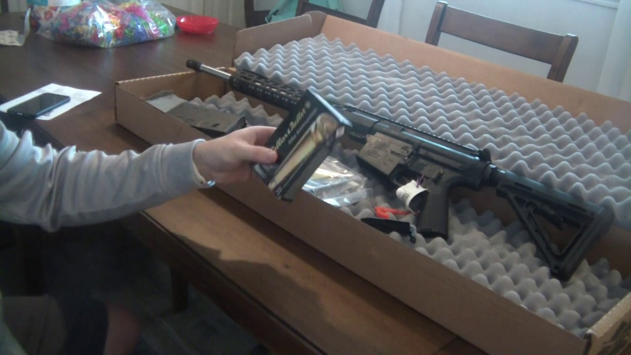Unboxing from Palmetto State Armory