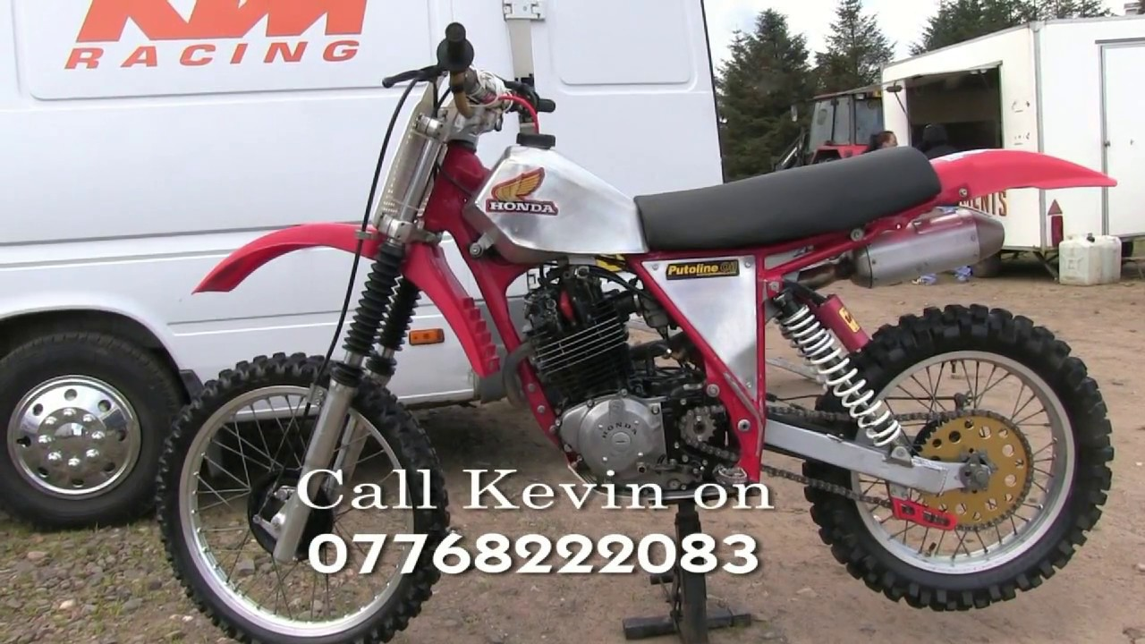 For Sale Honda XL 400 Twinshock Dirt Bike - YouTube