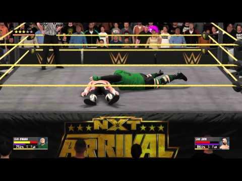 O'Mara wins the NXT Championship