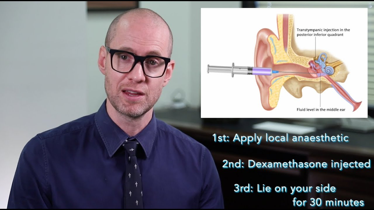 Intratympanic steroid injection youtube steroids for dogs ear infection