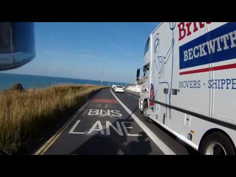 A ride to Brighton and the advantage of the bus lane