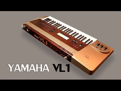 YAMAHA VL1 Virtual Acoustic Synthesizer 1993 | HD DEMO