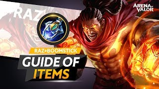 Raz + Boomstick - The Guide of Items | Arena of Valor