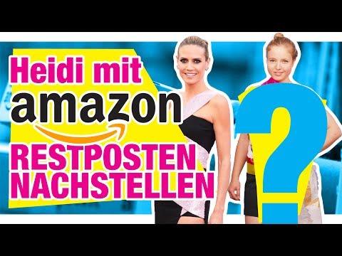 Heidi Klum Outfit nachgestylt mit Resten! - Amazon Überraschungspaket