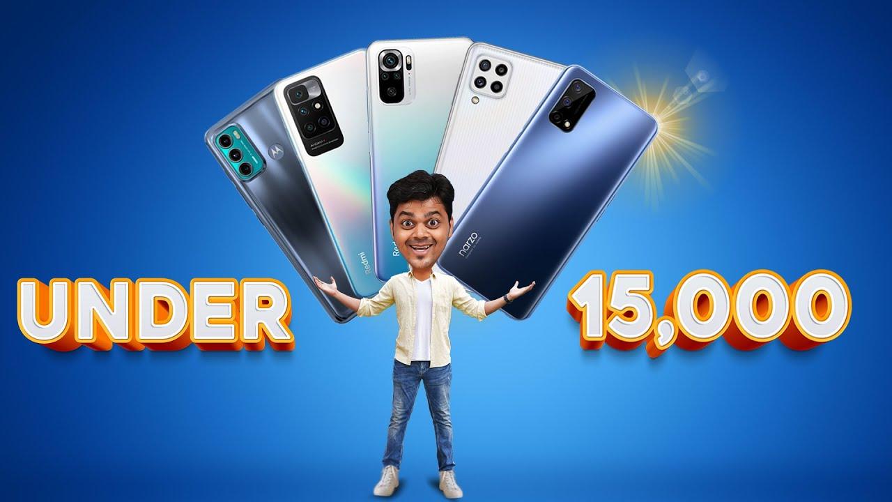 Top 5 Best Mobile Phones Under ₹15000 Budget ??? October 2021 | Tamil Tech