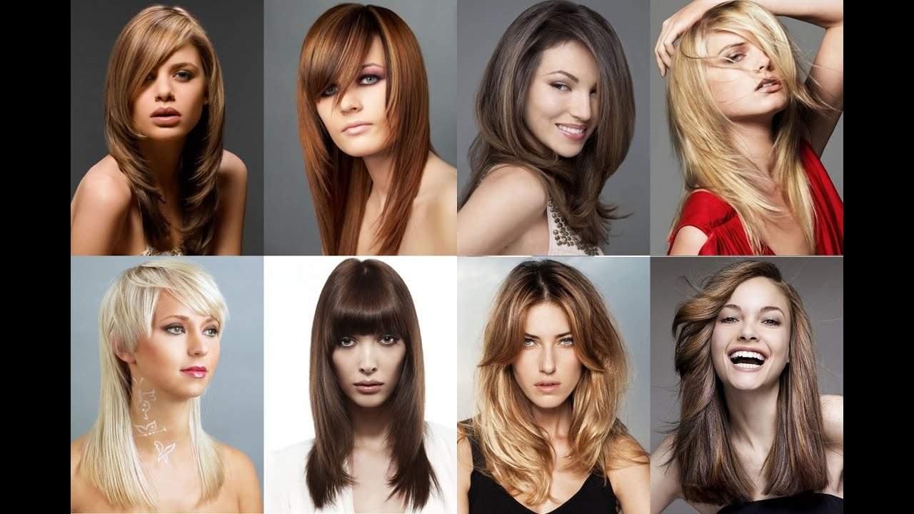 Смотреть видео прически на среднюю длину волос
