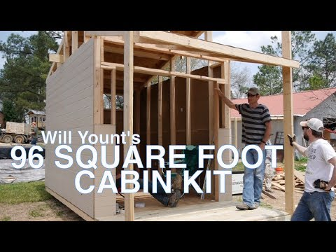 Repeat The Sawtooth 96 Square Foot Tiny House Cabin Kit