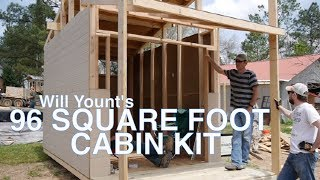The Sawtooth- 96 Square Foot Tiny House, Cabin Kit Or Hunting Camp