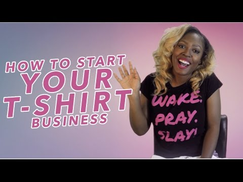 How To Start Your T-Shirt Business! - Part 1