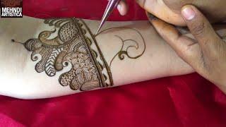 Latest Traditional Bharwa Mehndi DESIGN 2018
