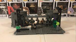 Lego Batman Beyond Batcave Moc