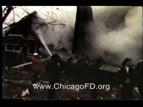Chicago Fire Dept Midway Airport United Flight 553