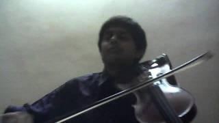 Stereo Love Violin Cover Aneesh VS