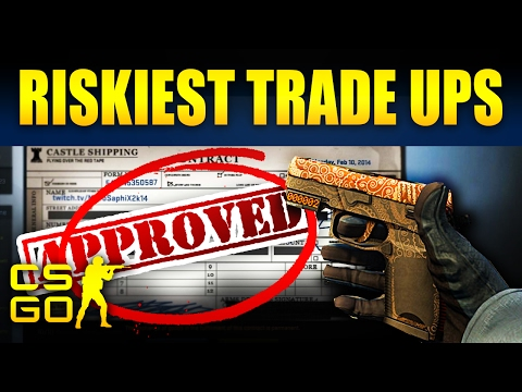 Top 10 Riskiest CS:GO Tradeups