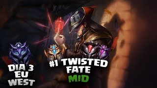 Twisted Fate | Seri Maçları #1 | West Chall - Master ELO |