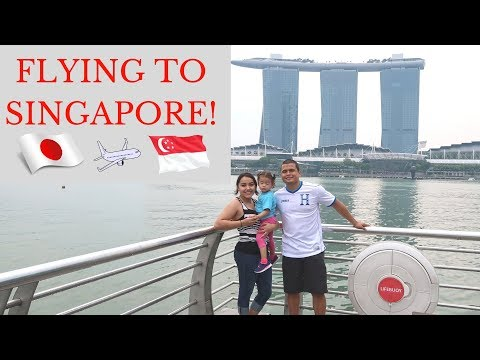 Flying to Singapore from Yokota AB Japan| Military Family Vlogs| Oct 2017