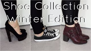 Shoe Collection | Winter Edition 2015 | Flats, Boots, Heels | TheLondonGirl