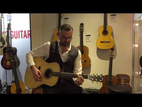 MusikMesse 2016: Yamaha TransAcoustic LL-TA Guitar