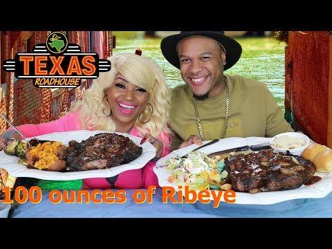 100 Ounce Ribeye Steak Challenge Courtesy of Texas Roadhouse
