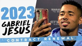 JESUS PHONES HIS MUM! | Gabriel Jesus signs new contract!