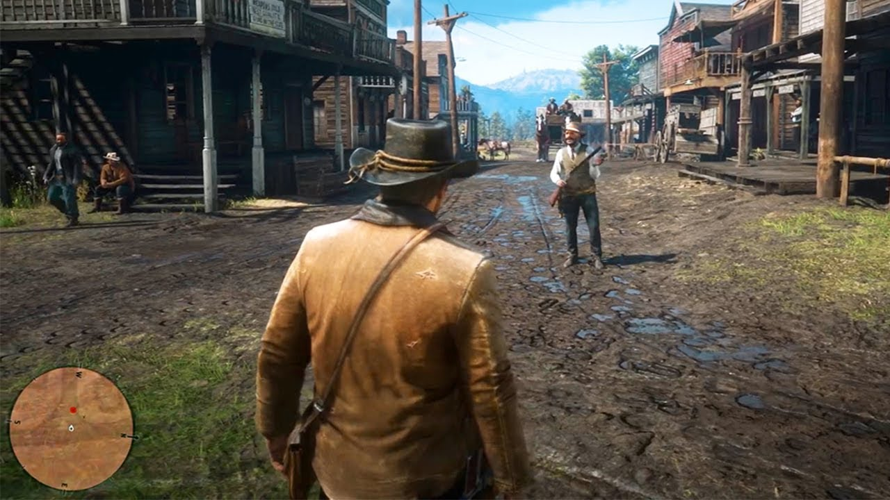 Red Dead Redemption 2 Gameplay Youtube