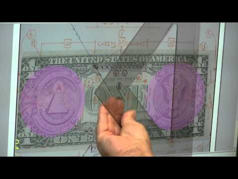 Secret of Solomon's Pillars Jachin and Boaz & King Solomons Temple On $1Bill