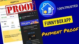FunnyBox App Payment Proof Unlimited Amazon Gift Cards Rs25+25+25...  🔥🔥🔥 screenshot 3
