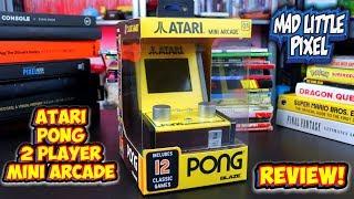 Is This New Atari Pong 2 Player Mini Arcade Trash? Blaze Retro Mini Arcade Review!