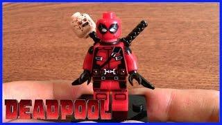 Дэдпул Минифигурка Обзор Deadpool Movie Custom Minifigure LEGO
