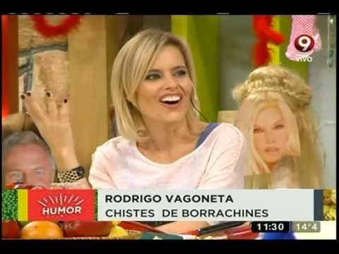 Disfrutá de los mejores chistes de Rodrigo Vagoneta