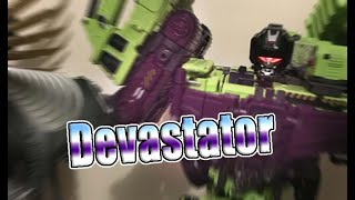 Finally! The Jinbao OS Devastator combined!